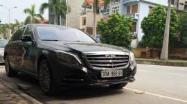 """Xe siêu sang Mercedes-Maybach S600 mang biển """"khủng"""" tại Hà Nội"""
