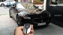 Cận cảnh Maserati Quattroporte SQ4 2015 đầu tiên tại Việt Nam