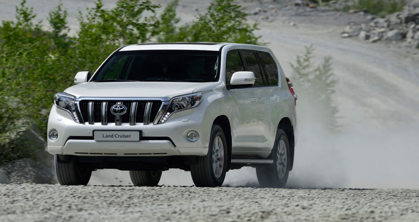 Toyota ngừng sản xuất Land Crusier Prado tại Nga