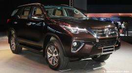 Toyota Fortuner 2016 sắp đến tay người tiêu dùng Ấn Độ