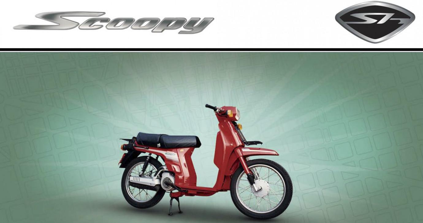 """Honda SH """"đời đầu"""" trông thế nào?"""