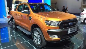 Ford Ranger phiên bản châu Âu trên sân khấu Frankfurt