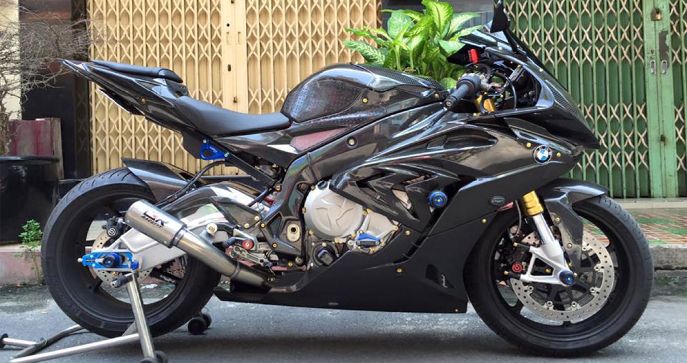Ngắm siêu môtô BMW S1000RR độ khủng nhất Việt Nam