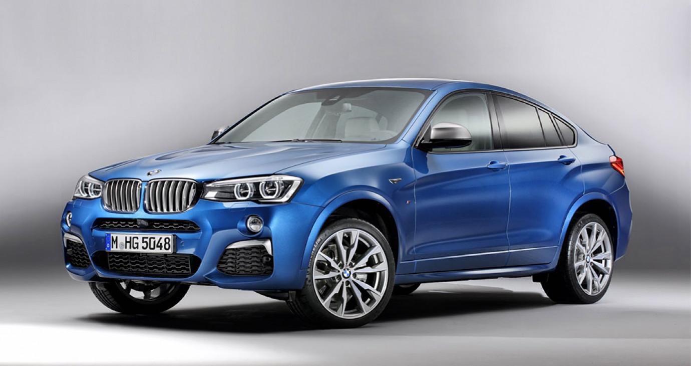 BMW X4 M40i rò rỉ thông tin và hình ảnh