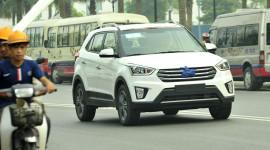 Hyundai Creta bất ngờ xuất hiện trên đường phố Hà Nội