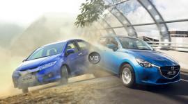 Honda City 2015 vs. Mazda2 2015: So tài sedan cỡ nhỏ