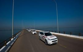 Trải nghiệm Outlander PHEV - ôtô tiêu thụ nhiên liệu ít hơn cả xe máy