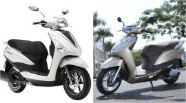 Chọn Yamaha Acruzo hay Honda LEAD?
