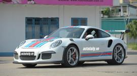 """Ảnh """"nóng"""" siêu phẩm Porsche 911 GT3 RS tại VIMS 2015"""