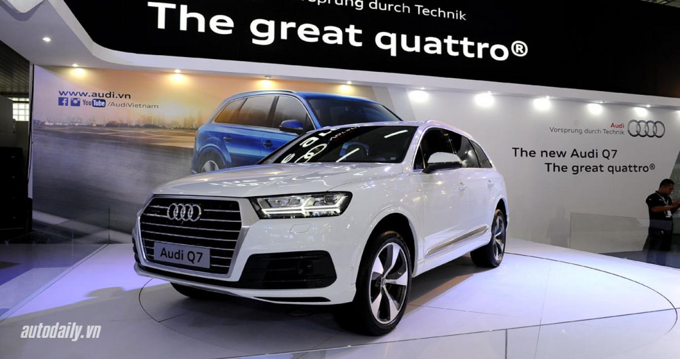 Công bố giá bộ đôi Audi Q3 và Q7 mới tại Việt Nam