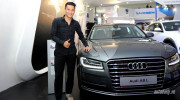 Công Vinh giản dị bên dàn xe sang Audi