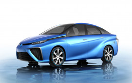 Xe tương lai Toyota FCV sẽ ra mắt tại Triển lãm Ôtô Việt Nam