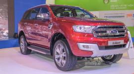"""Ford Everest 2015 """"gây bão"""" tại Triển lãm Ôtô Việt Nam"""