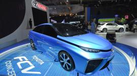 Toyota giới thiệu xe chạy bằng khí hydro tại Việt Nam