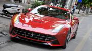 """Chạm mặt """"siêu ngựa"""" Ferrari F12 Berlinetta đầu tiên tại Hà Nội"""