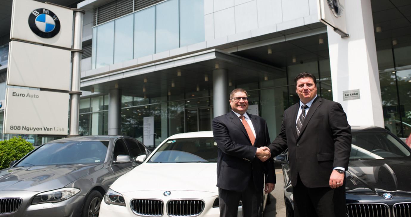 BMW tài trợ phương tiện cho giải golf Hồ Tràm Open 2015