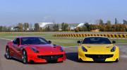Video: 3 tay đua F1 trình diễn trên siêu xe Ferrari F12tdf