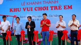 """Bridgestone Việt Nam mang """"Công viên lốp xe"""" đến Đà Nẵng"""
