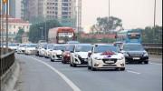 Gần 50 xe Mazda3 đi đón dâu ở Bắc Ninh