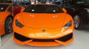 Thêm siêu bò Lamborghini Huracan màu cam về Việt Nam