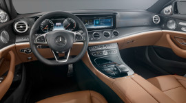 Rò rỉ hình ảnh nội thất Mercedes E-Class 2016