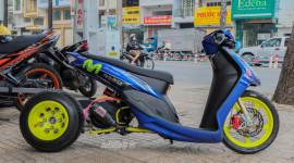 Ngắm chiếc Yamaha Mio độ cực chất tại Sài Gòn