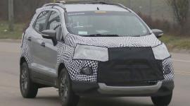 Ford EcoSport bản nâng cấp lộ diện trên đường thử