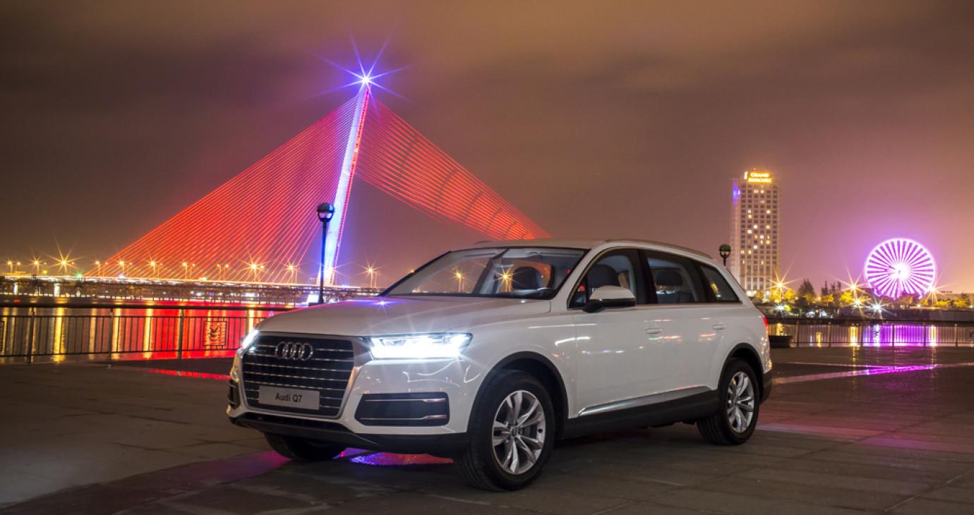 Cận cảnh Audi Q7 2.0 2016 vừa ra mắt tại Việt Nam