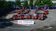 30 xe tải FUSO Canter cùng lúc đến tay khách hàng