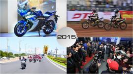 5 sự kiện nổi bật của làng xe máy trong năm 2015