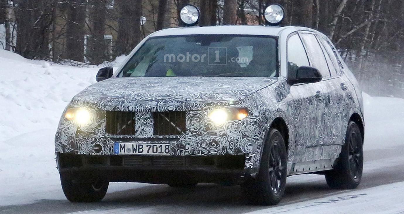 BMW X5 2018 lần đầu lộ diện trên đường thử