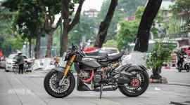 Ducati 1199 S độ Café Racer tại Hà Nội: Bụi bặm và thanh thoát