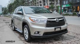 Toyota Highlander Limited 2016 giá hơn 3 tỷ đồng tại Hà Nội