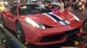 """""""Siêu phẩm"""" Ferrari 458 Speciale đầu tiên về Việt Nam"""
