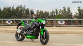 Kengo X350 - Xe côn tay giá 98 triệu đồng tại Việt Nam