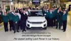 Range Rover Evoque thứ 500.000 xuất xưởng