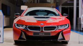 """Cận cảnh BMW i8 Protonic Red Edition """"bằng xương bằng thịt"""""""