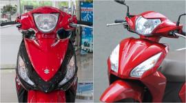 Chọn Suzuki Address hay Honda Vision?