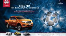 Mua xe Nissan, cơ hội trúng cặp vé xem chung kết UEFA Champions League