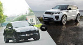Range Rover Evoque vs. Porsche Macan: Cân sức cân tài
