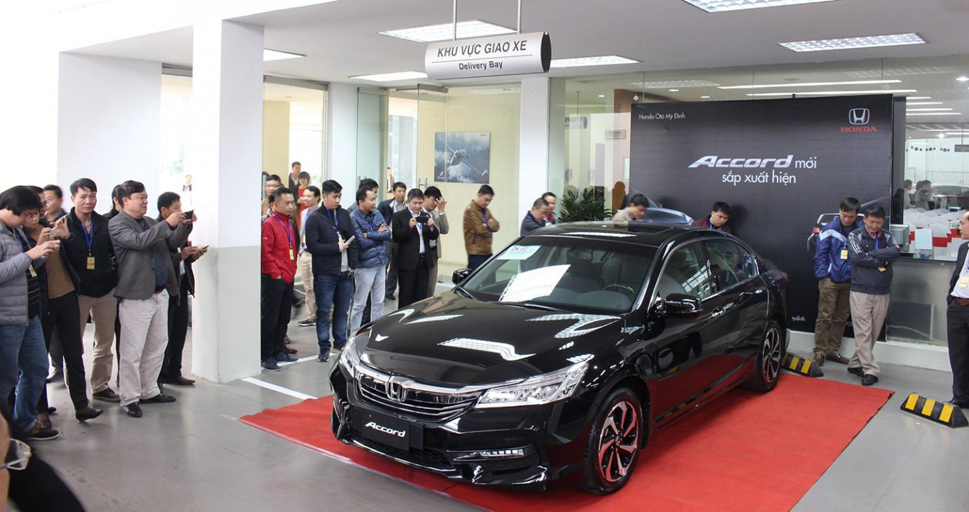 Honda Accord 2016 sắp ra mắt thị trường Việt có gì mới?
