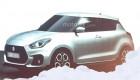 Suzuki Swift 2017 lộ diện bản phác thảo chi tiết