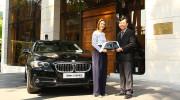 Euro Auto bàn giao xe BMW 520i tới khách sạn 5 sao