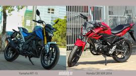 Hơn 100 triệu đồng, chọn Yamaha MT-15 hay Honda CB150R 2016?