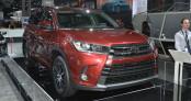 Toyota Highlander 2017 chính thức bước ra ánh sáng