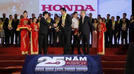 Honda Việt Nam nhận giải thưởng Rồng Vàng