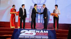 Toyota Việt Nam nhận Giải thưởng Rồng Vàng lần thứ 15