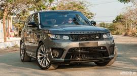 Range Rover Sport SVR - SUV mạnh nhất của Land Rover về Việt Nam