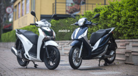 So sánh trực quan Piaggio Medley 125 ABS và Honda SH125i