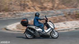 Yamaha NM-X và hành trình ngẫu hứng đến Hồ Tràm